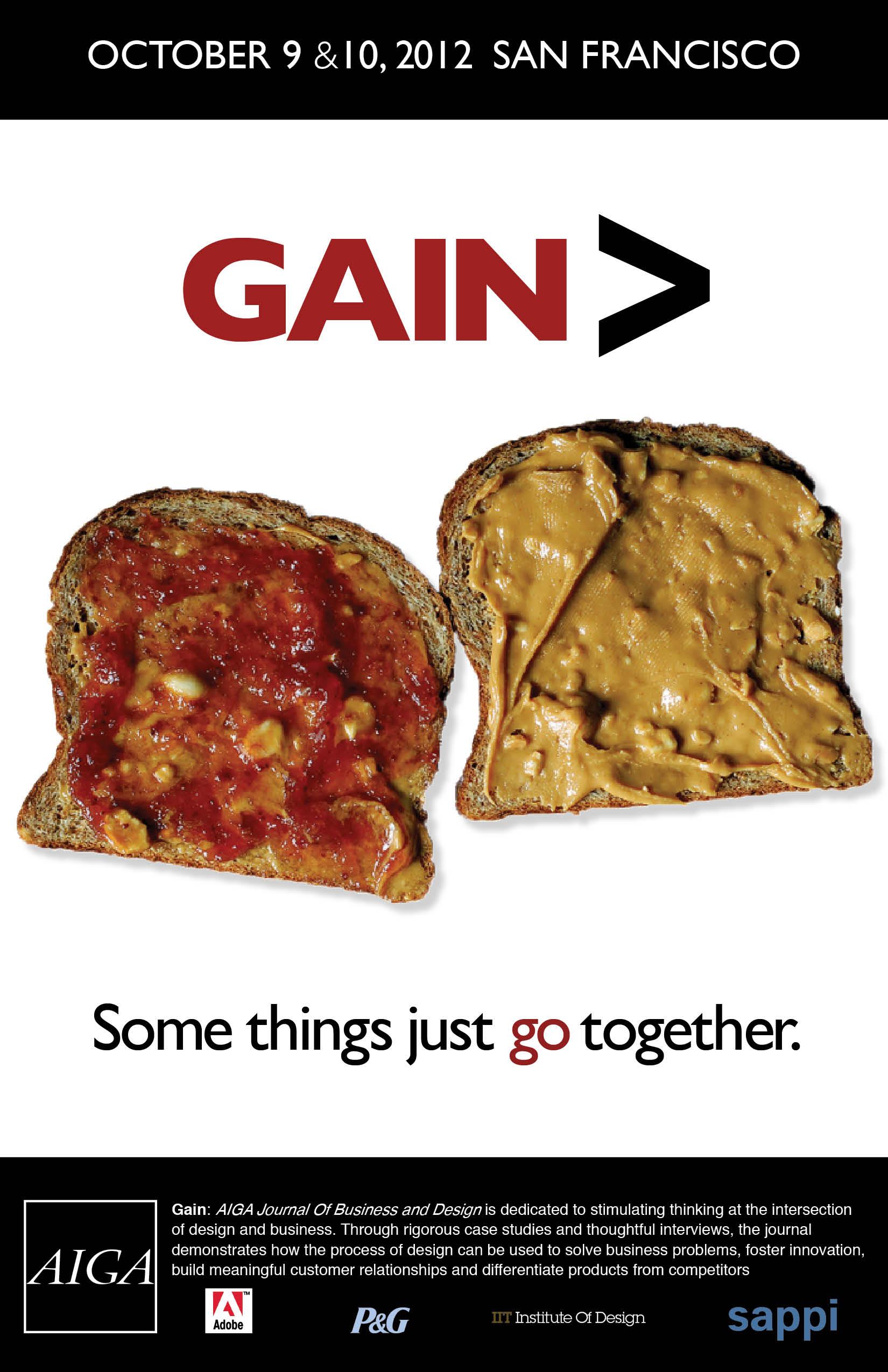 Gain Poster